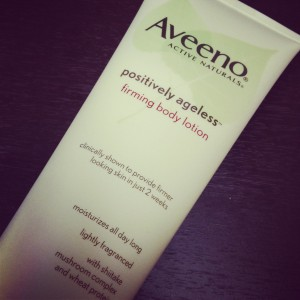 Aveeno Positively Ageless Lotion